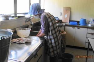 もち米洗い (3)
